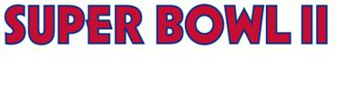 Super Bowl II Logo