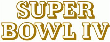 Super Bowl IV Logo