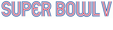 Super Bowl V Logo