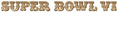 Super Bowl VI Logo