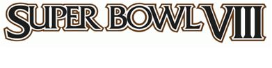 Super Bowl VIII Logo