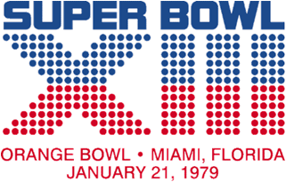 Super Bowl XIII Logo
