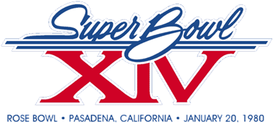 Super Bowl XIV Logo