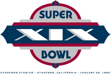 Super Bowl XIX Logo