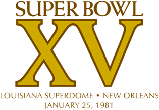 Super Bowl XV Logo