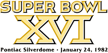 Super Bowl XVI Logo