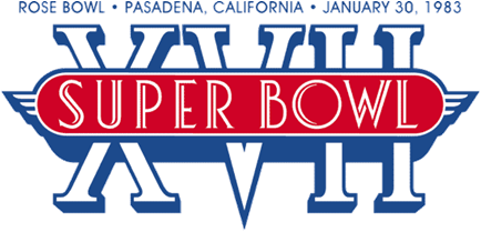 Super Bowl XVII Logo