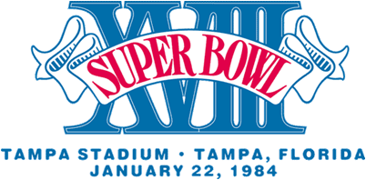 Super Bowl XVIII Logo