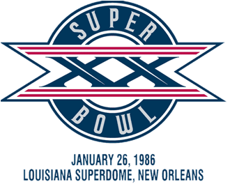 Super Bowl XX Logo