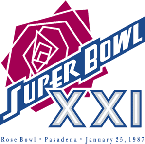 Super Bowl XXI Logo