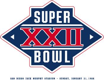 Super Bowl XXII Logo