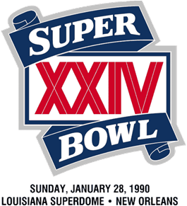 Super Bowl XXIV Logo