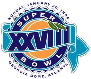 Super Bowl XXVIII Logo