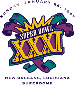 Super Bowl XXXI Logo