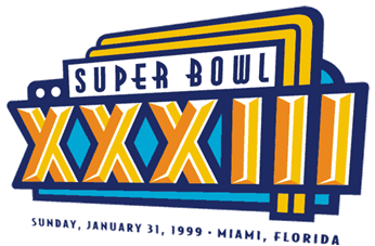 Super Bowl XXXIII Logo