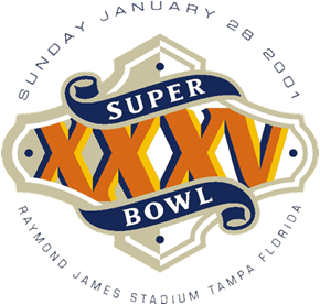 Super Bowl XXXV Logo
