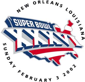 Super Bowl XXXVI Logo