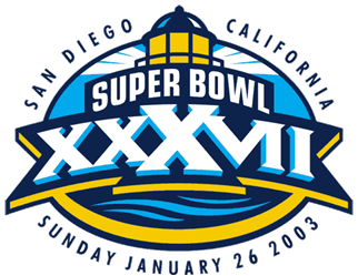 Super Bowl XXXVII Logo