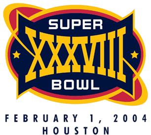 Super Bowl XXXVIII Logo