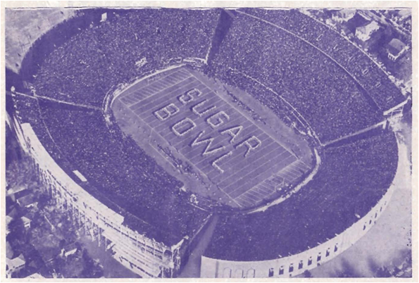 The Sugar Bowl Was Played At Tulane University's Tulane Stadium Between 1935 And 1974