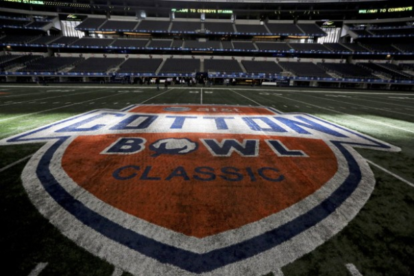 The Texas Longhorns Own The Cotton Bowl Classic