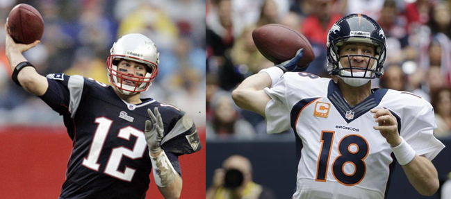 Tom Brady Peyton Manning And The Most Completions In Nfl