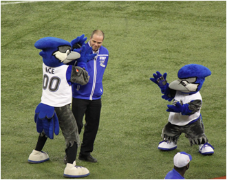 Toronto Blue Jays Mascot Ace, Jr.
