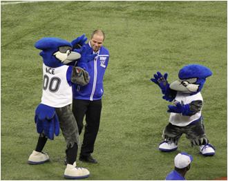 Toronto Blue Jays Mascot Ace, Jr.