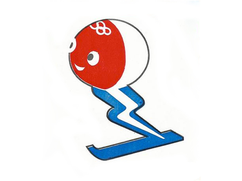 1968 Grenoble Winter Olympics Mascot Schuss