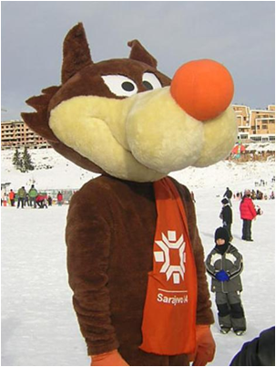 1984 Sarajevo Winter Olympics Mascot Vucko
