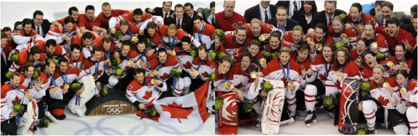 Canada Has The Most Ice Hockey Medals, And The Most Golds, Too - Both Men's And Women's