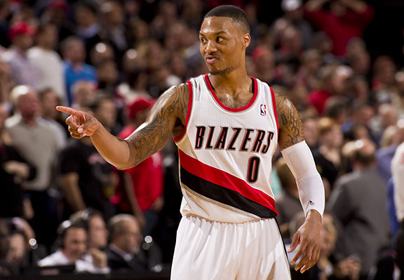 Damian Lillard, 2012-13 Rookie Of The Year And Two-Time All-Star Skills Challenge Winner. Not A Bad Start At All.