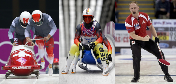 Switzerland, Germany And Canada Dominate The Bobsled, Luge and Curling, Respectively