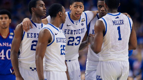 Anthony Davis And The 2011-12 Kentucky Wildcats Won The NCAA Championship...And The Most Games In A Season Ever, Too