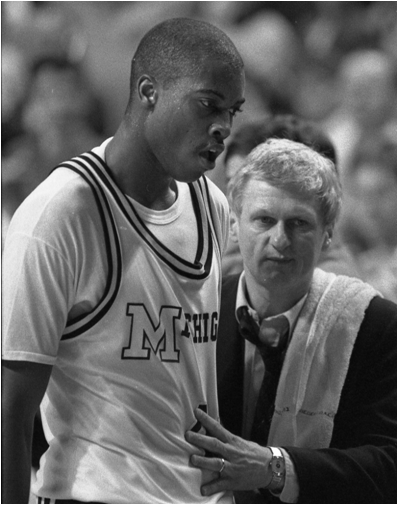 Michigan's Glen Rice Holds The Single Tournament Record For Points, Field Goals And Three Pointers. The Wolverines Won It All In 1988-89, Too.