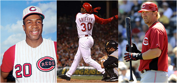 Frank Robinson, Ken Griffey, and Adam Dunn - All One-Time Reds - Have The Most Opening Day Home Runs