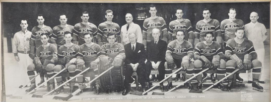 The 1943-44 Montreal Canadiens Won The Stanley Cup, And Beat The Toronto Maple Leafs In An 11-0 Shutout Along The Way