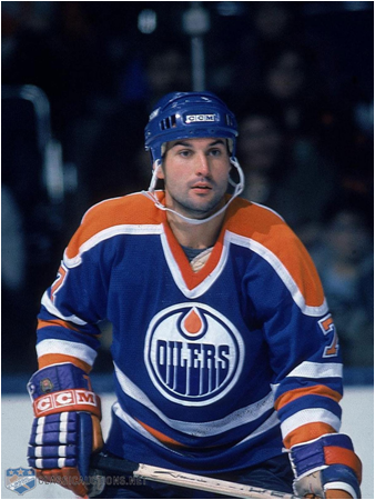 Defenseman Paul Coffey Scored 12 Goals In The 1985 Stanley Cup Playoffs. The Edmonton Oilers Won The Cup.