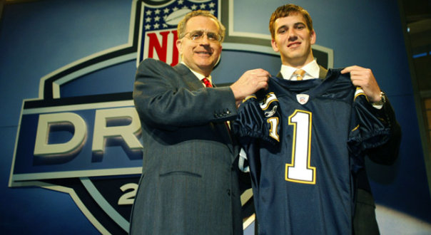 In 2004, Eli Manning Was Drafted By The San Diego Chargers, Then Quickly Traded To The New York Giants. He's The Last No. 1 Pick To Win A Super Bowl