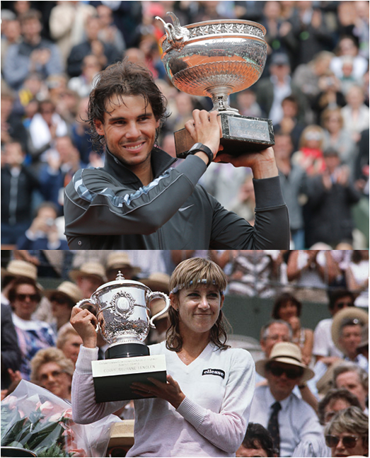 Spain Has The Most Men's French Open Wins, Led By Rafael Nadal's Eight. The USA Has The Most Women's French Open Wins, Led By Chris Evert's Seven.