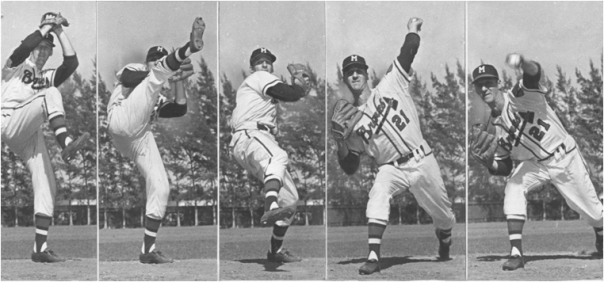 Warren Spahn, Arguably The Greatest Left-Handed Pitcher Of All Time And Defintely The One With The Most Wins