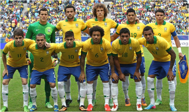 Brazil's 2014 FIFA World Cup (Home) Team Are The Favorites To Win It All