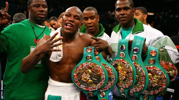 Floyd Mayweather, Jr., Still The Best In The World