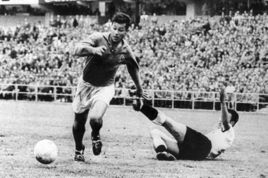 Just Fontaine At The 1958 World Cup