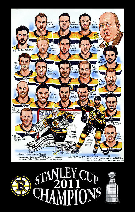 The Boston Bruins Came Back After Being Down 2-0 To The Vancouver Canucks To Win The 2011 Stanley Cup