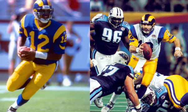 The St. Louis Rams Went From 4-12 Under Tony Banks To Super Bowl Champions Under Kurt Warner In One Season