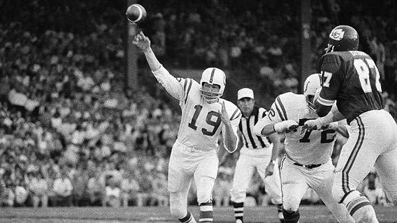 Johnny Unitas Threw The Most TD Bombs Of All Time