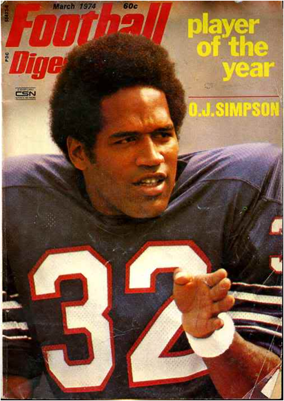 O.J. Simpson Was The Player Of The Year In 1973, After Posting 143.1 Yards Per Game