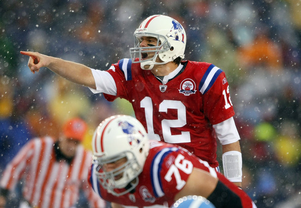 Tom Brady Threw For Six Touchdowns In The Snow When The New England Patriots Beat The Tennessee Titans 59-0