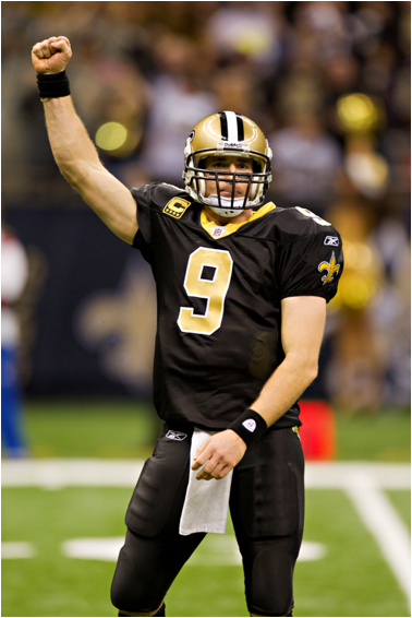 Drew Brees, Along With Peyton Manning, Has The Most Five-Or-More Passing Touchdown Games In The Modern Era